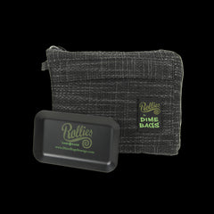 "Rollies Pouches by Dime Bags 10"" Padded Pouch w/ Rolling Tray"