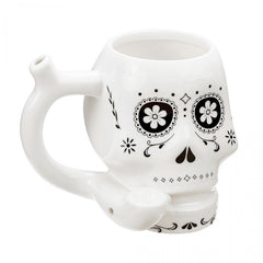 Day Of The Dead Mug Pipe
