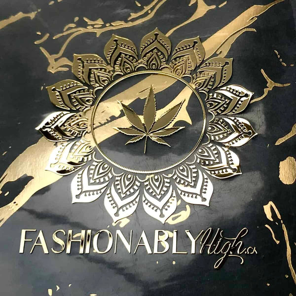 Fashionably High Gold Mandala Sticker