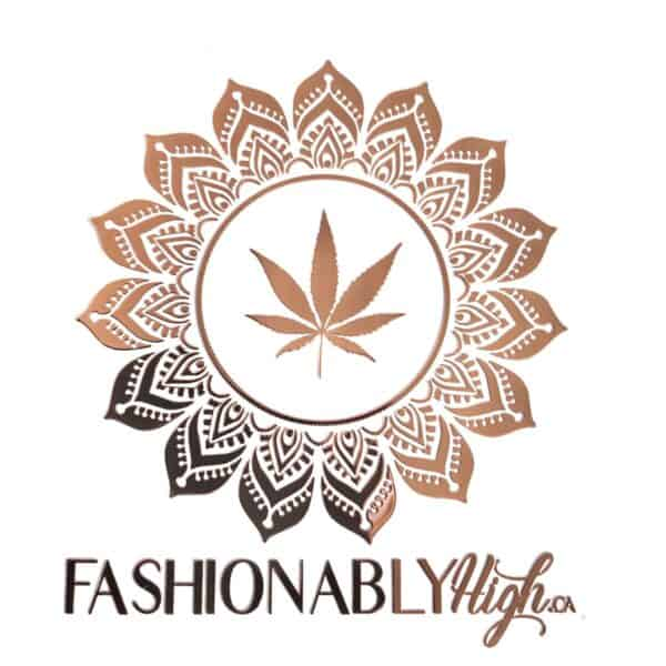 Fashionablyhigh Rose Gold Mandala Sticker