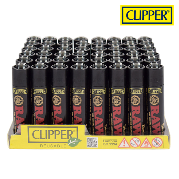 Clipper Lighter-RAW Black