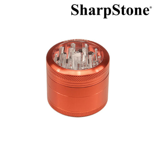SharpStone Burgandy Glass top Grinder