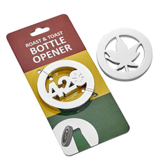 Roast & Toast 420 - Leaf Design Bottle Opener
