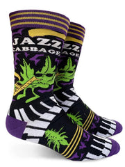 Jazz Cabbage Men's Socks