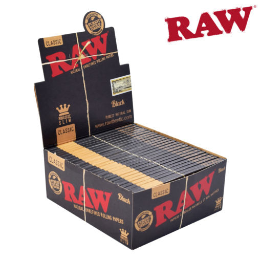 RAW BLACK KING SIZE SLIM