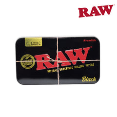 Raw Black Tin