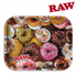 RAW METAL ROLLING TRAY – DONUT LRG