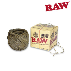 RAW Hemp Wick 100ft