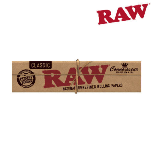 RAW CONNOISSEUR KING SIZE W/ TIPS