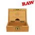 Raw Natural Teakwood Smokers Box