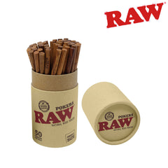 Raw Wood Pokers 113mm