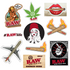 RAW Sticker Pack-Pack of 10 RAW Stickers