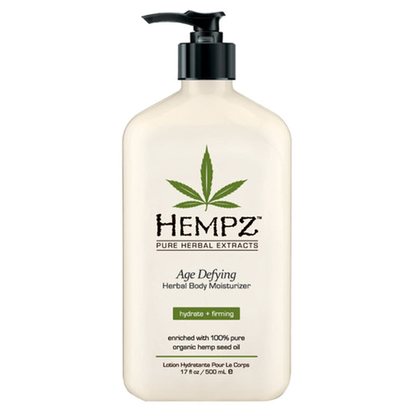 17 oz bottle of Hempz Age Defying Lotion