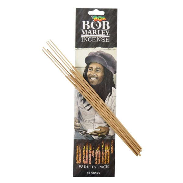 Bob Marley Incense 24 sticks per pack - Burnin'