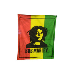 "Bob Marley ""Rasta"" Double Bed Sheet/Tapestry"