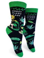 Crazy Plant Lady Women's Socks