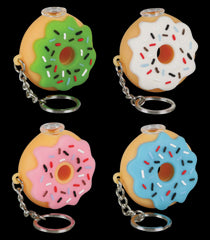 Donut Key Chain Taster Pipe