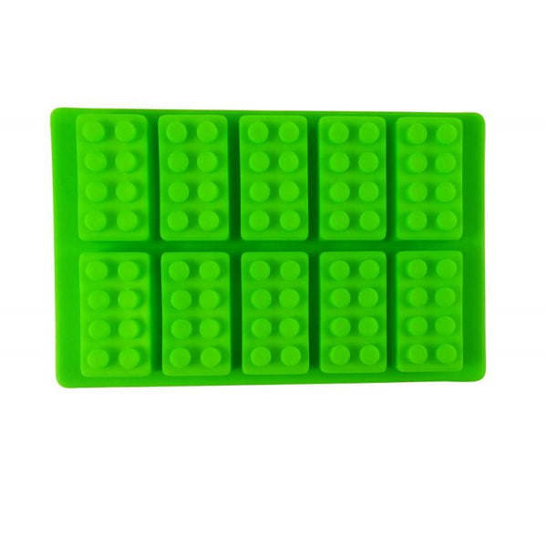 Dope Molds Silicone Gummy Mold - 10 Cavity Bricks