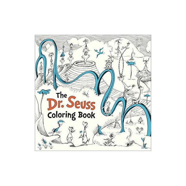 Dr. Seuss Coloring Book, The