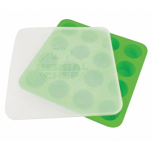 "Herbal Chef 8.5"" x 8.5"" Silicone Tray w/ Lid"