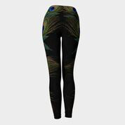 Peacock Leaf Leggings