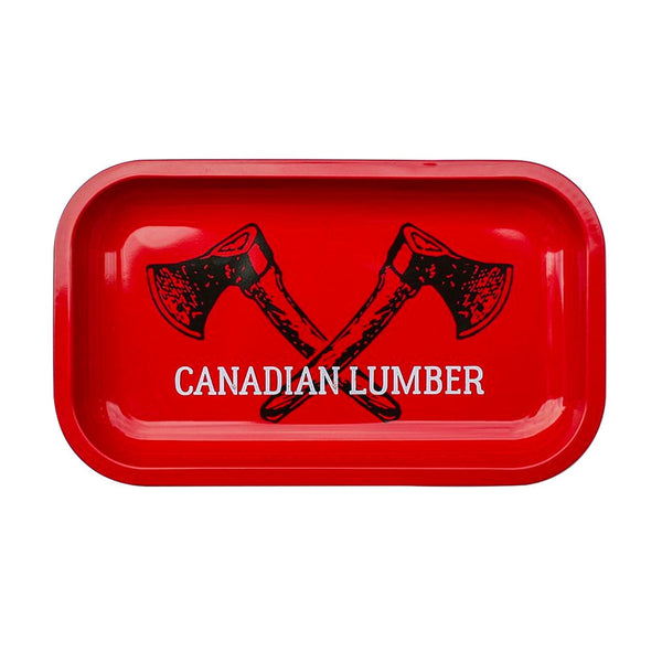 Canadian Lumber Metal Tray-Small