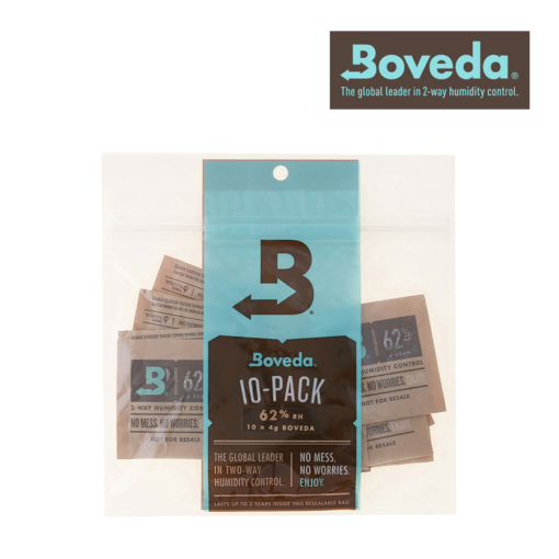 BOVEDA 4G HUMIDITY CONTROL PACK – 10/PACK