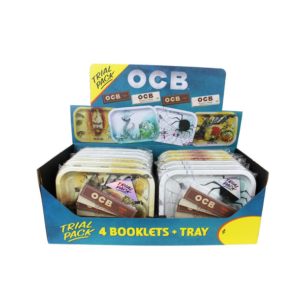 OCB Trial Pack. Tray with Papers!