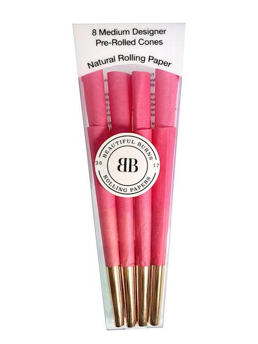 Beautiful Burns Power Pink 8 Pack  Pre-Rolled Cones Canada