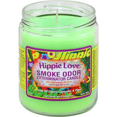 Hippie Love Smoke Odor Candle