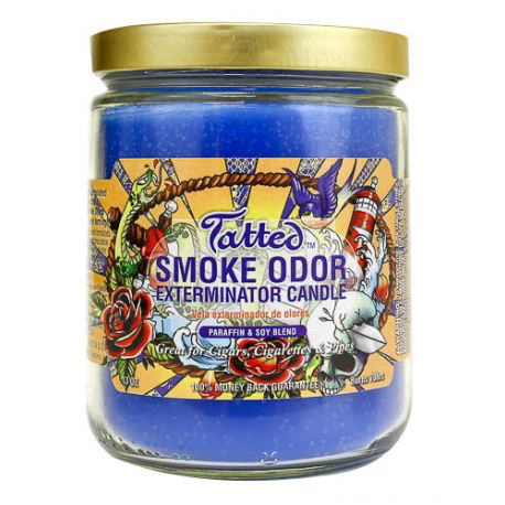 Tatted Smoke Odor Candle