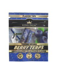 King Palm  Berry Terp Filters