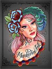 Marked In Ink - A Tattoo Coloring Book