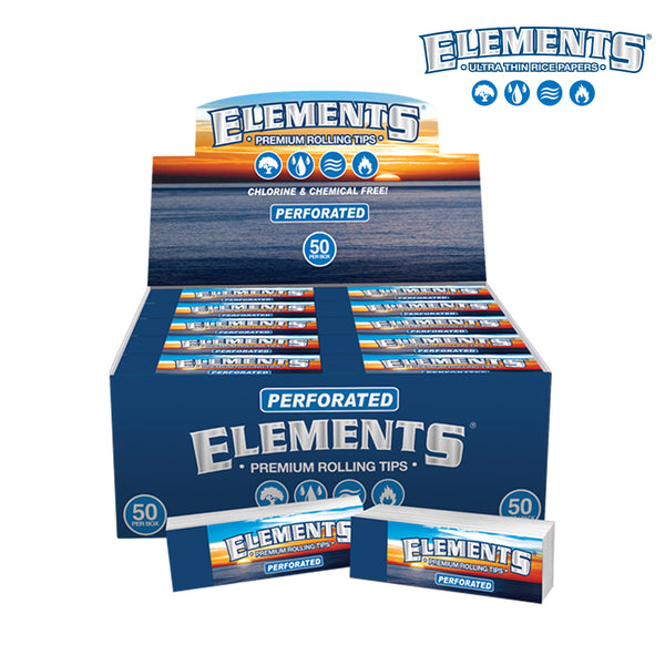 Display Box of Elements Perforated Tips