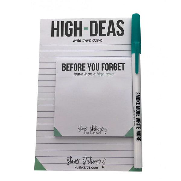 Stoner Stationary - High Ideas Set