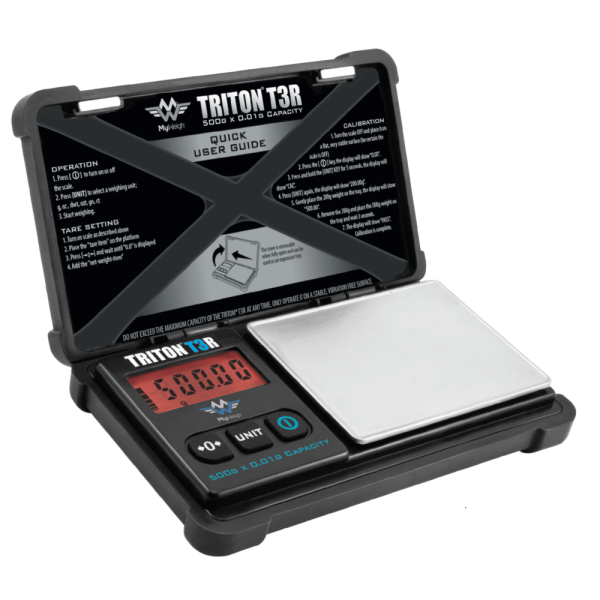 Triton T3 Rechargeable 500g Scale