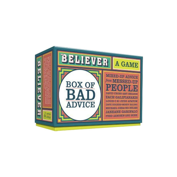 The Believer Box of Bad Advice Game