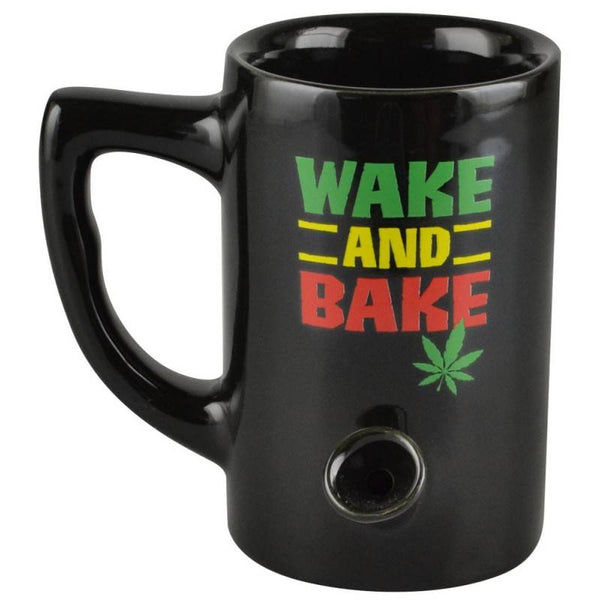 Wake & Bake 8oz Novelty Mug – Rasta