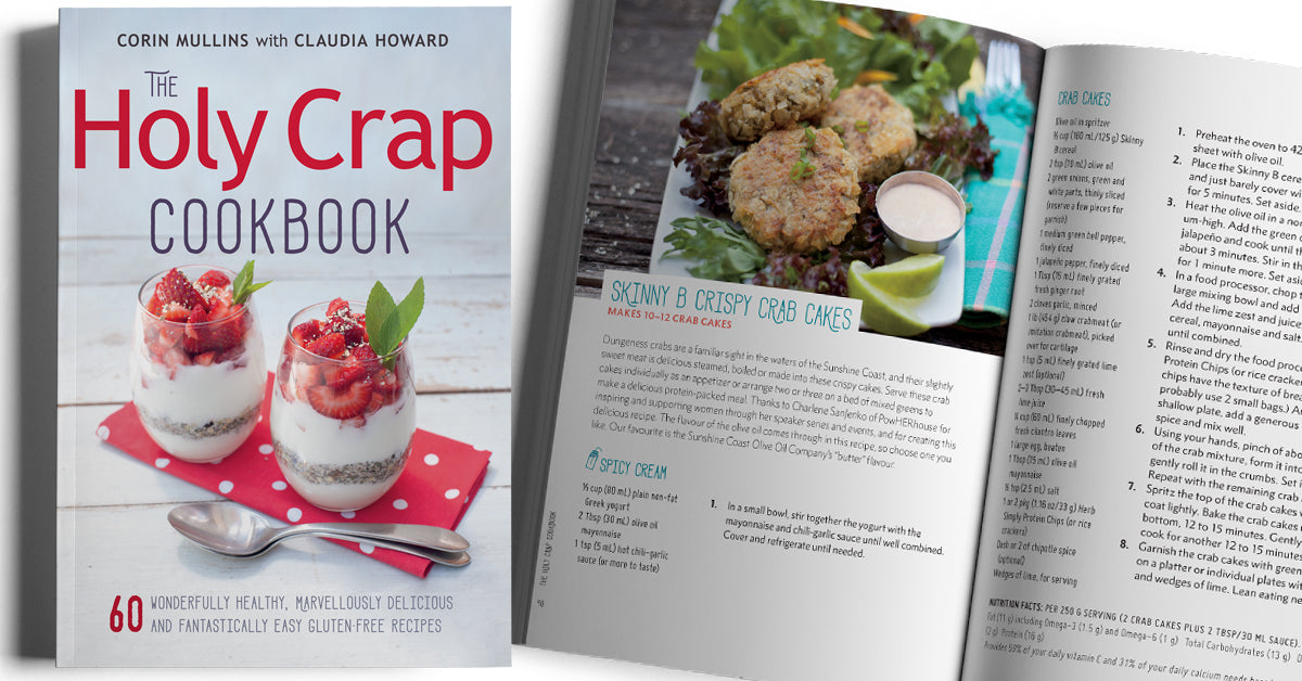Guest Chef Charlene SanJenko contributed two powHER packed recipes to the Holy Crap Cookbook