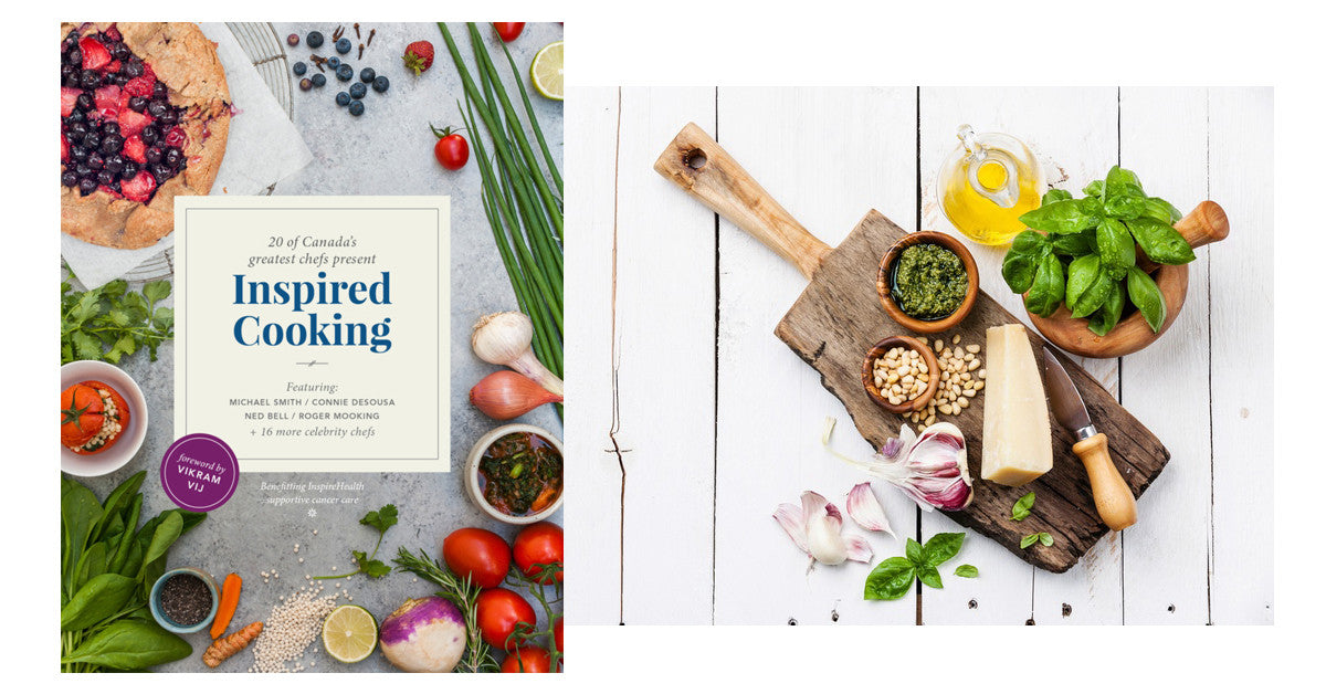 Inspired Cooking cookbook and Promo Pack contest