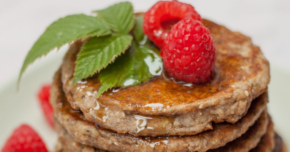 Gluten Free High Fiber Oatmeal and Cottage Cheese Pancakes