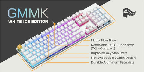 specification of glorious keyboards