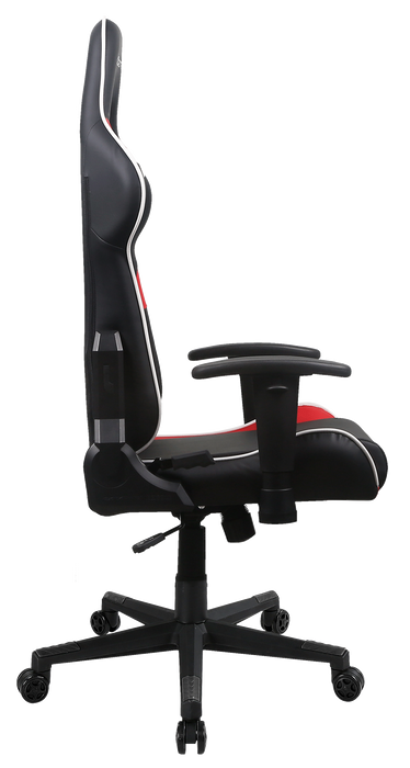 2021 DXRacer P Series Gaming Chair Conventional PVC Leather D6000 - Black/Red/White