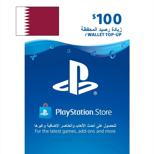 SONY PlayStation Network Card $100 (Qatar)