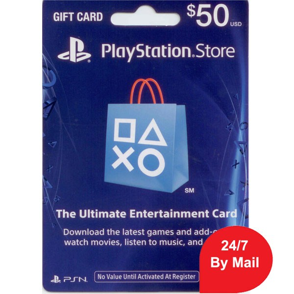 SONY Playstation Network Card 50$ - US Account - Delivery by Email