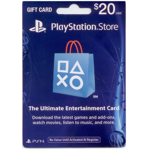 SONY Playstation Network Card 20$ - PSN US Account -Delivery by Email