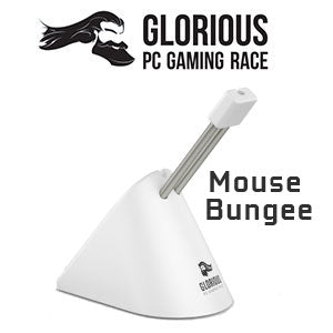 Glorious Mouse Bungee - White