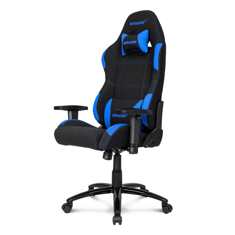 Peachy Ak Racing Ex Wide Gaming Chair Black Blue Machost Co Dining Chair Design Ideas Machostcouk