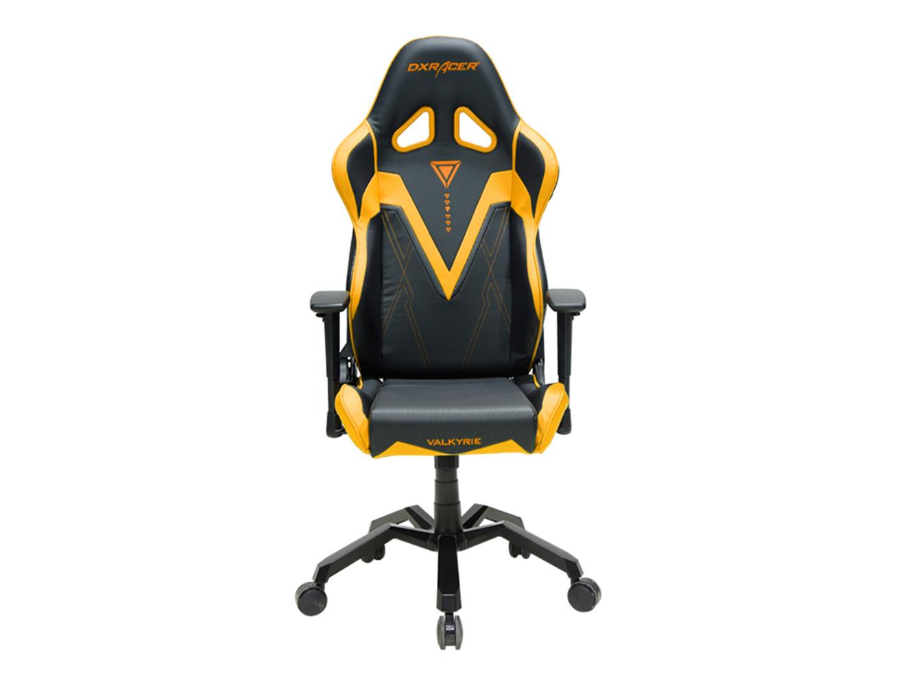DXRACER Valkyrie Series Gaming Chair - Black/Yellow