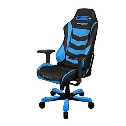 DXRACER Iron Series Gaming Chair - Black Blue